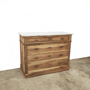 Commode-ancienne-bois-patine-mabre-blanc-meuble-de-metier-meuble-d'atelier-2