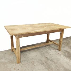 Table-a-manger bois atelier-table-atelier-meuble-de-metier-bois-patine-vintage-1