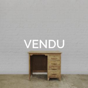 Bureau-chêne-enfant-vintage-bois-brut-patine-meuble-ancien-meuble-de-metier