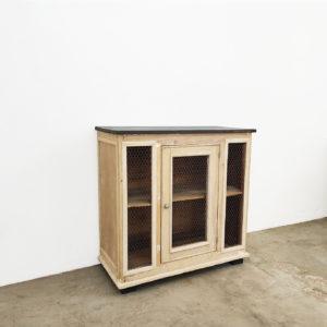 Garde-manger-meuble-ancien-buffet-bois-patine-meuble-de-metier
