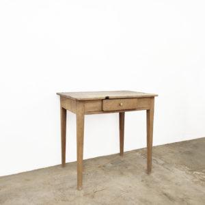 Table Appoint Brut Bois Ancienne Vintage Atelier