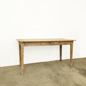 Table Style Ferme Atelier Bois Patine Ancienne Vintage