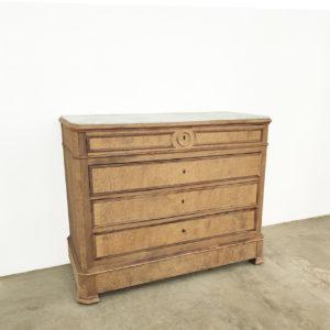 Commode-Ancienne-Bois-Patine-Vintage